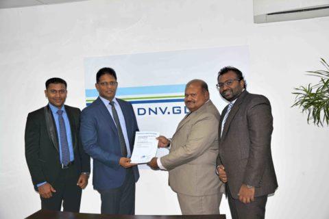 acrus shipping Sri Lanka ISO  receiving